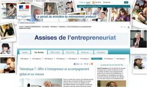 Netice (netice.fr) l'ePortfolio aux Assises de l'entrepreneuriat