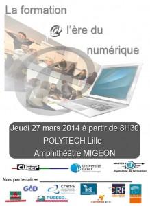 Les enjeux de la formation d'adultes à l'ère numérique - Université Lille 1