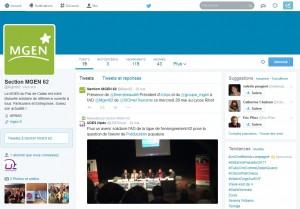 Twitter et community management – MGEN & UDES Npdc